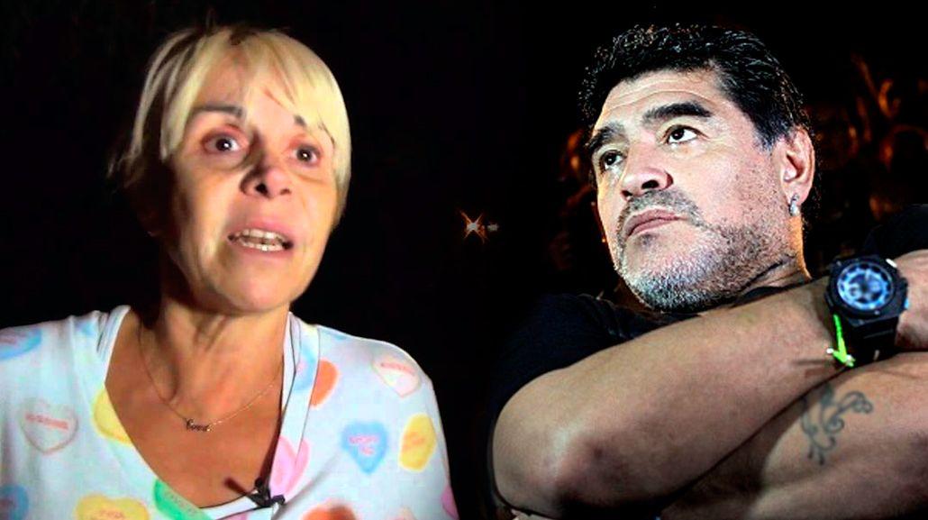 Explotó Claudia Villafañe: A Diego no le interesa unir a sus hijos