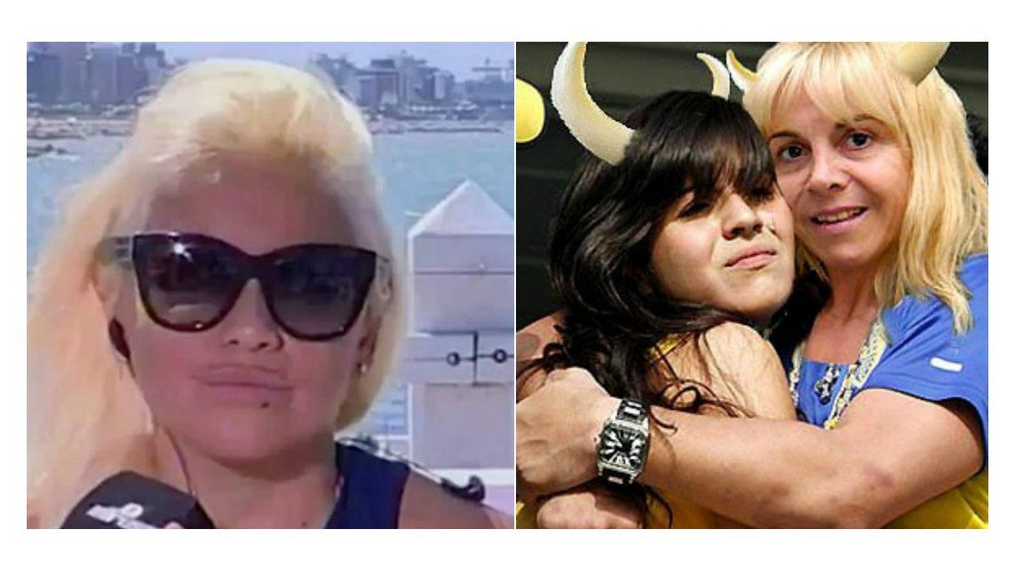 Verónica Ojeda hizo RT a una polémica foto y desató la furia de Gianinna Maradona: Hoy te entierro
