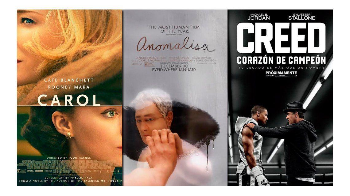 Los estrenos de cine la semana: Creed de Sylvestre Stallone, Carol y Anomalisa