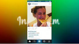Después del ataque fake y el cierre, la China volvió a Instagram comiendo pizza