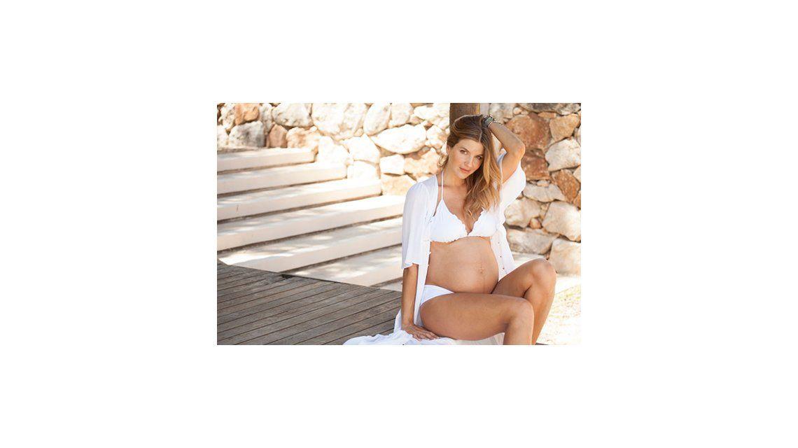 Marcela Kloosterboer, embarazada de ocho meses: Se va a llamar Juana y por la música que escucha desde la panza, va a ser rockera