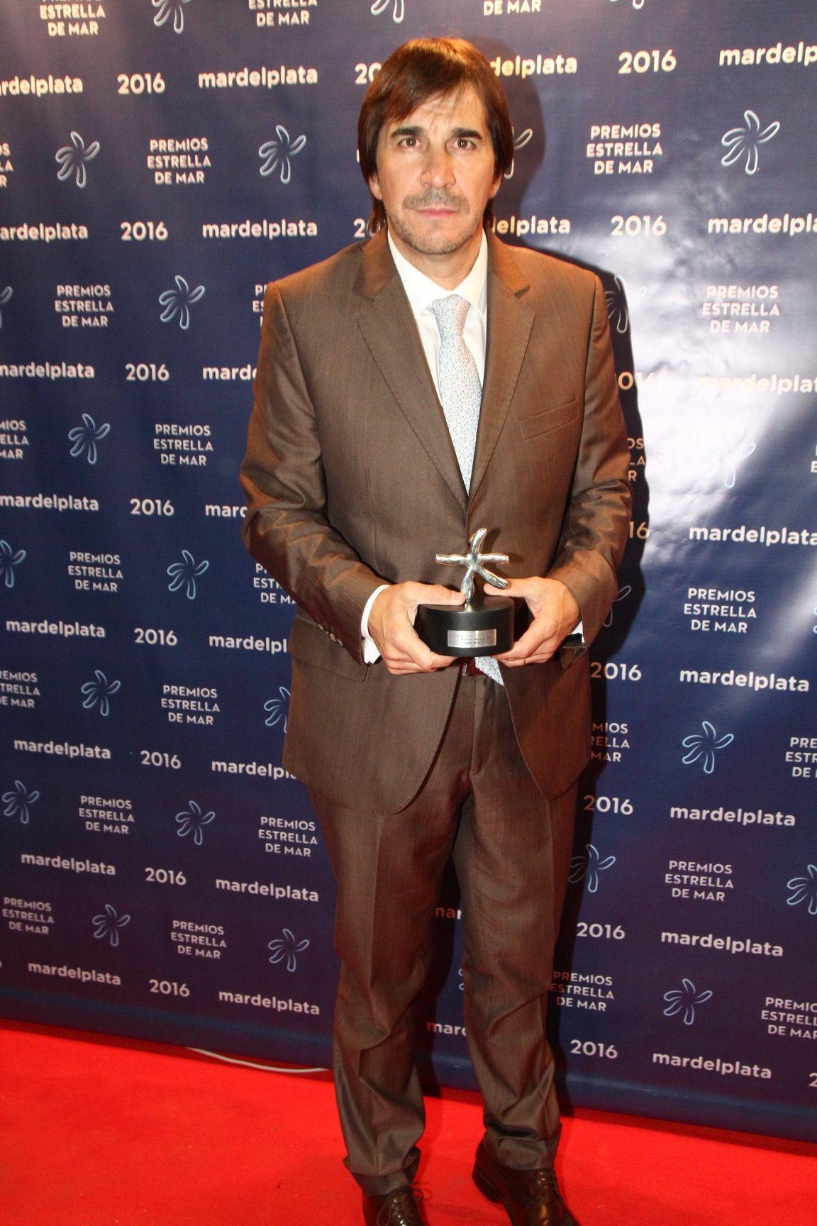 Javier Faroni, distinguido en los Estrella de Mar por sus 25 años produciendo en Mar del Plata