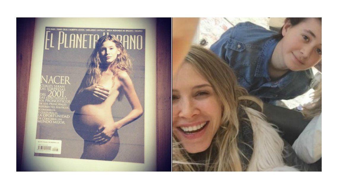 La foto vintage de Guillermina Valdes, embarazada a los 23 años: Mi tiempo de ser madre, de ahí para siempre