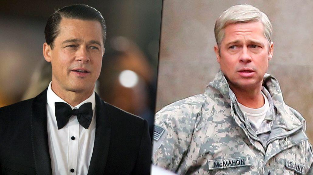 ¿Qué le pasó? El cambio de look de Brad Pitt: galán con pelo platinado