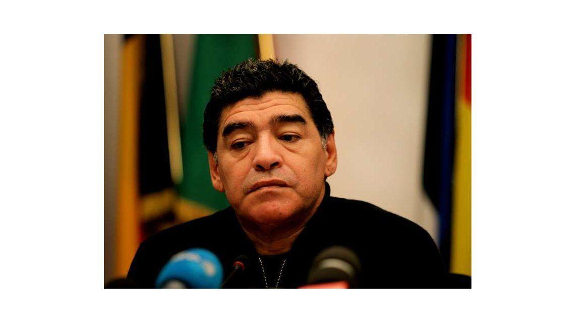 A Diego Maradona no lo dejan entrar a EE.UU. y se pierde la Copa América