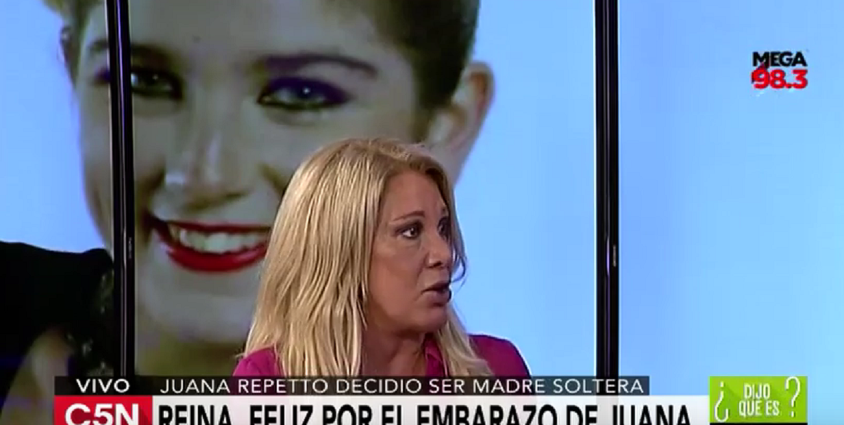 Reina Reech evalúa demandar a la clínica que divulgó los exámenes de maternidad de Juana Repetto