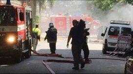 Incendio controlado en Canal 13: el comunicado oficial de Artear