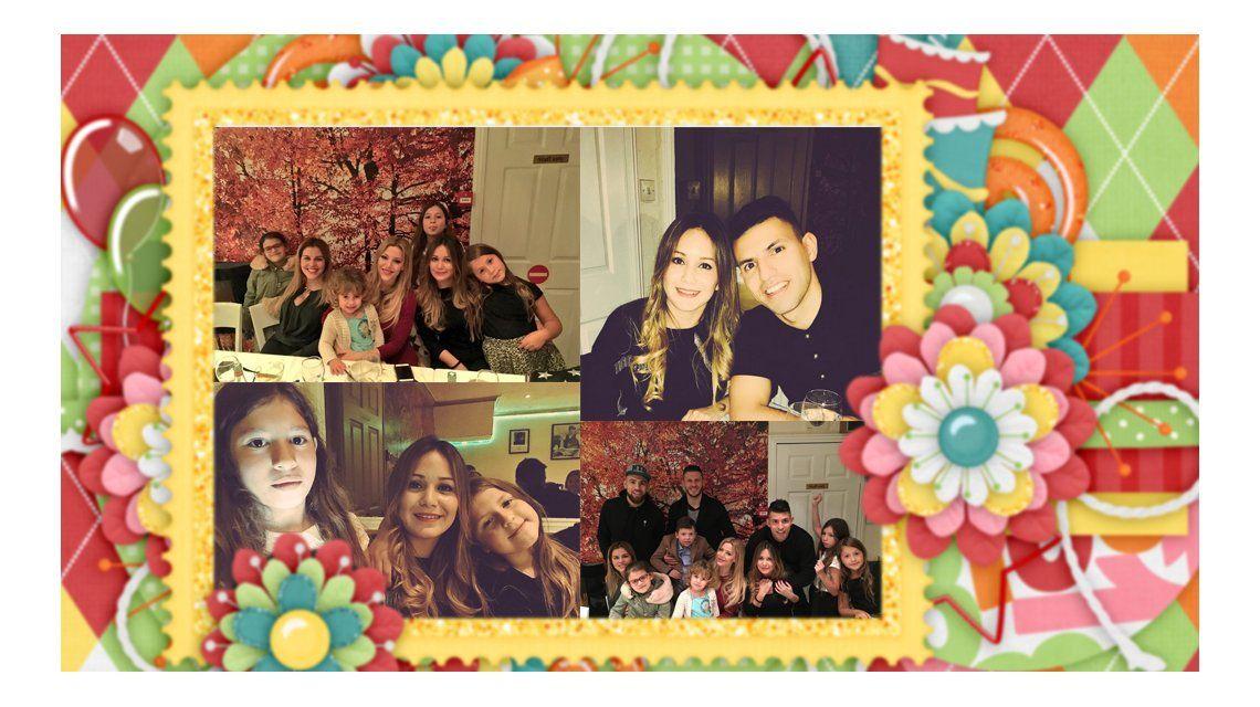 El álbum de fotos del cumpleaños de Karina La Princesita con el Kun Agüero: Martín Demichelis, Eva Anderson y Nicolás Otamendi, los invitados