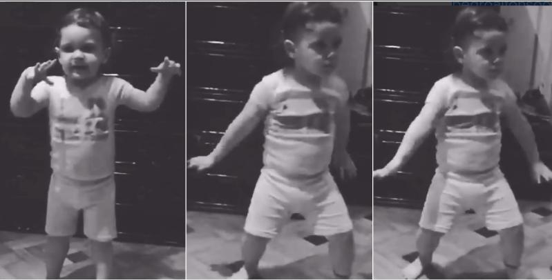 La hija de Paula Chaves y Pedro Alfonso, Olivia, dio clases de baile de La mordidita: mirá sus increíbles pasos