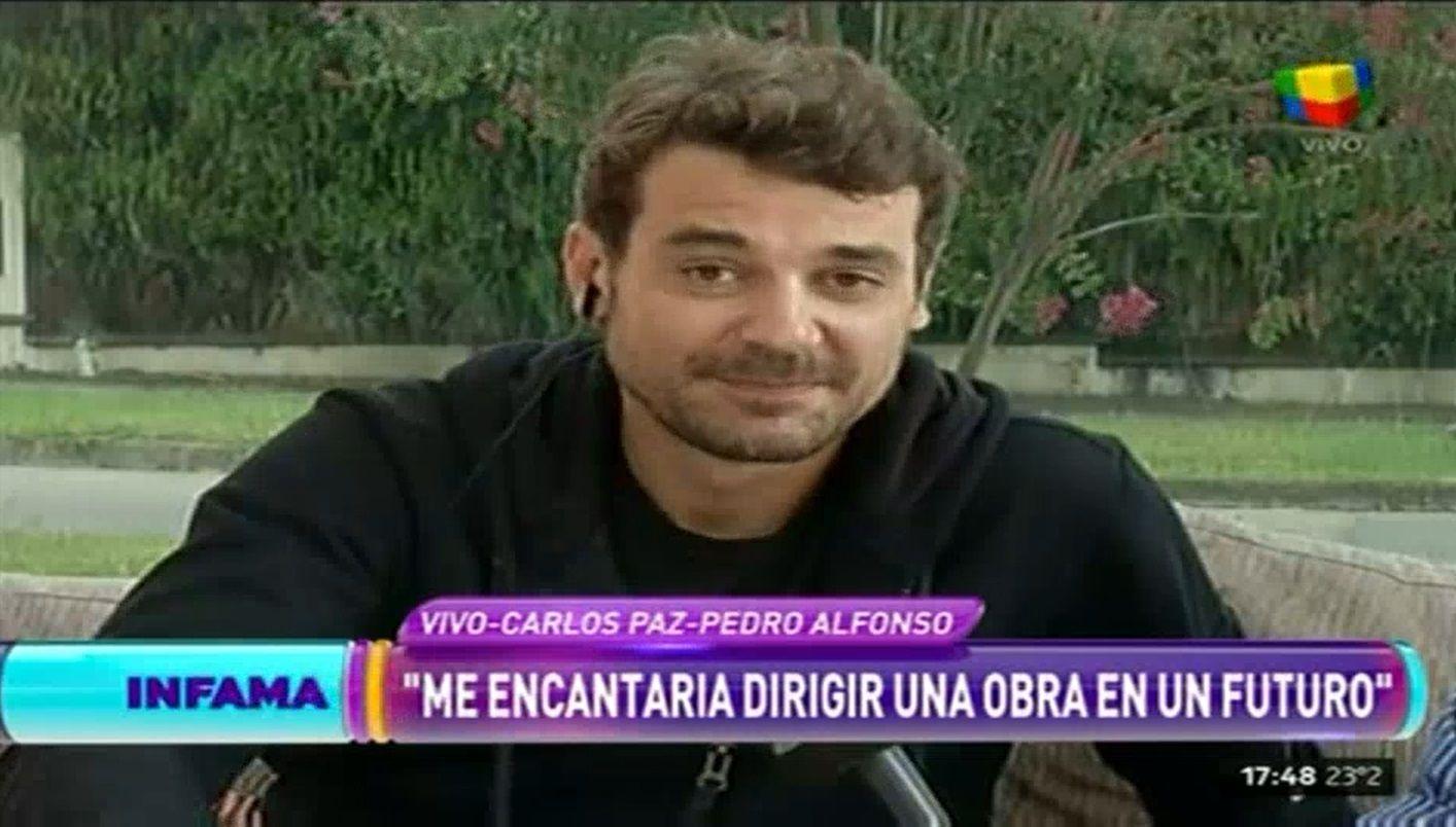 La divertida confesión de Pedro Alfonso, ¡con anécdota incluida!: Estudié más para ser actor que productor