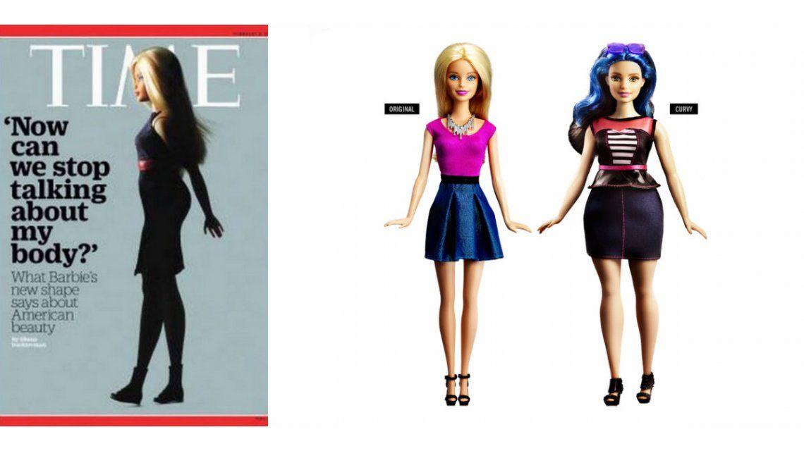 La llamativa tapa de la revista Time por los nuevos diseños de la muñeca Barbie