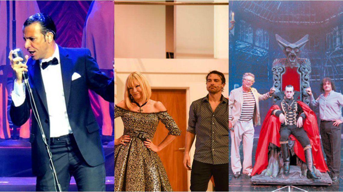 Martín Bossi, Marcianos en la casa y Drácula el musical, líderes de la temporada de verano