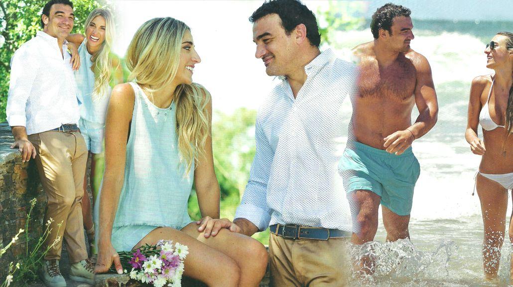 La romántica historia de amor del capitán de Los Pumas, Agustín Creevy