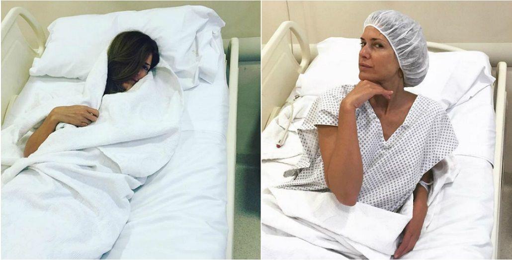 Isabel Macedo fue operada de urgencia de los meniscos y publicó el paso a paso de la internación