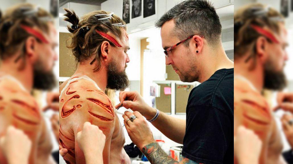 Las impactantes heridas de Leo Dicaprio en El renacido
