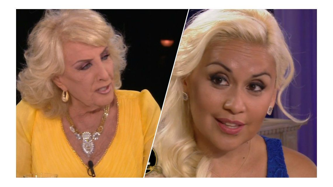 Verónica Ojeda habló de Diego Maradona sin nombrarlo en lo de Mirtha Legrand: puso en duda la cuota alimentaria y desmintió que Dalma haya conocido a Dieguito Fernando