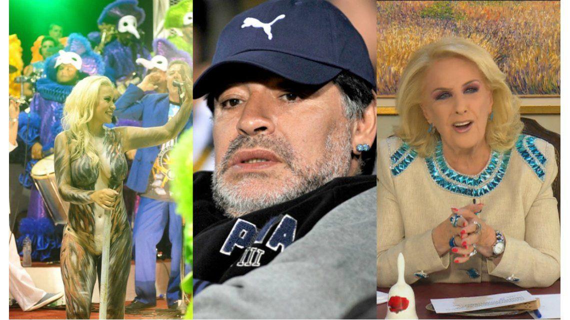 Verónica Ojeda, con mordaza legal para hablar de la intimidad sexual con Diego Maradona en lo de Mirtha Legrand
