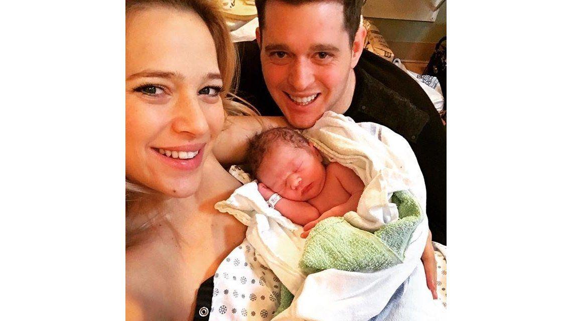 Nació el segundo hijo de Luisana Lopilato y Michael Bublé: Les presento a Elías