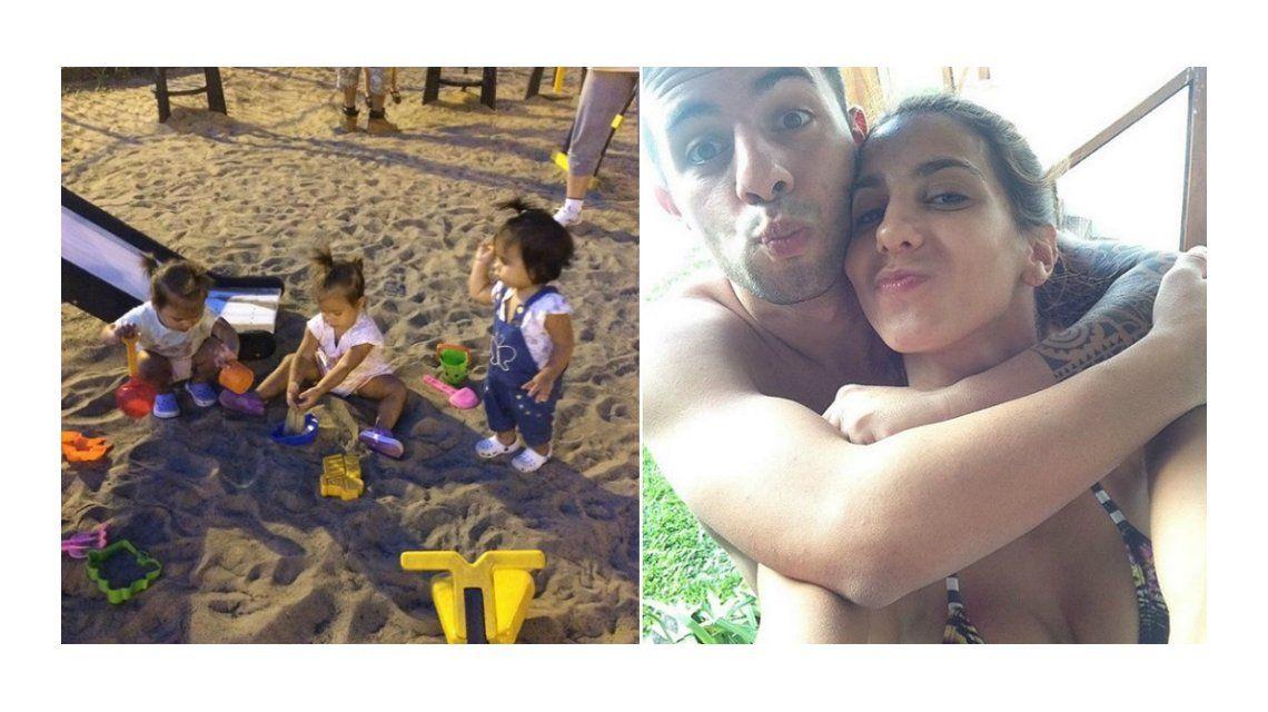 El nuevo destino de Cinthia Fernández y Matías Defederico con sus tres hijas
