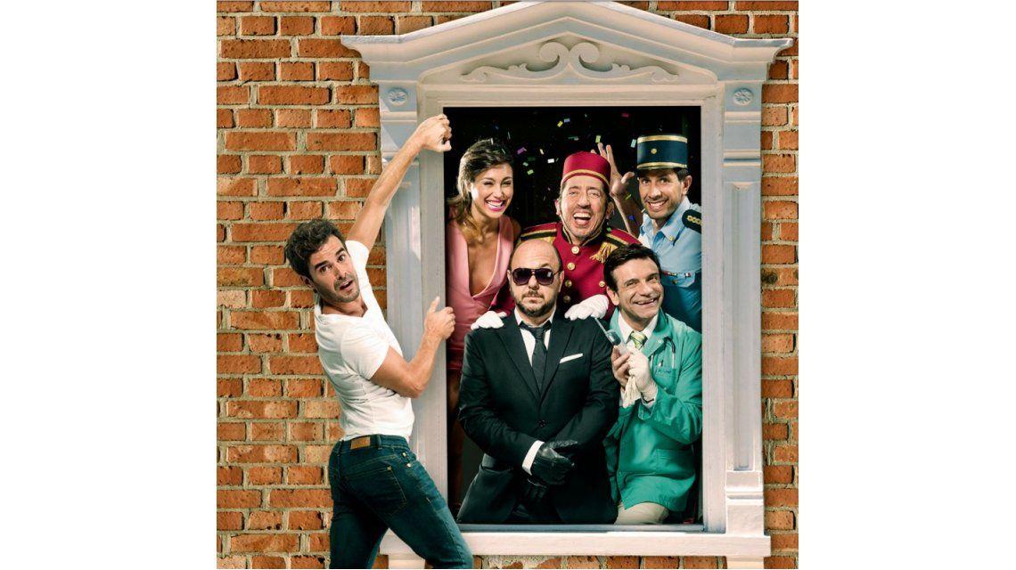 Nicolás Cabré estrenó El quilombero, una comedia efectiva y con humor popular