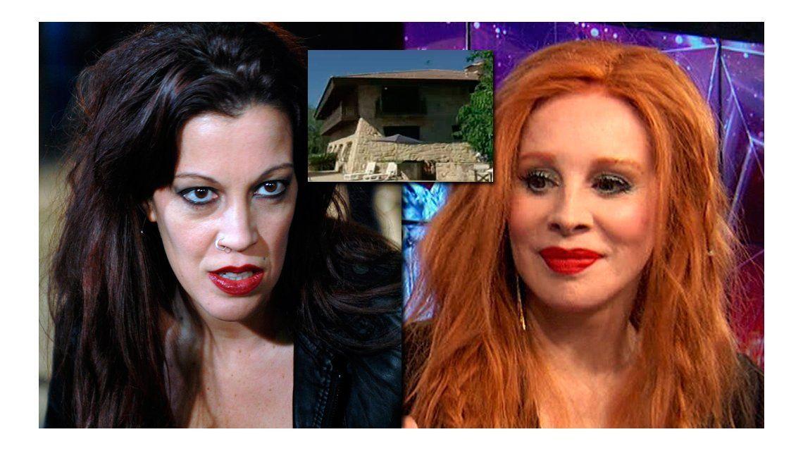 La espectacular mansión de Miriam Lanzoni que trajo polémica: Nacha se quejó cuando supo que tenía esta casa