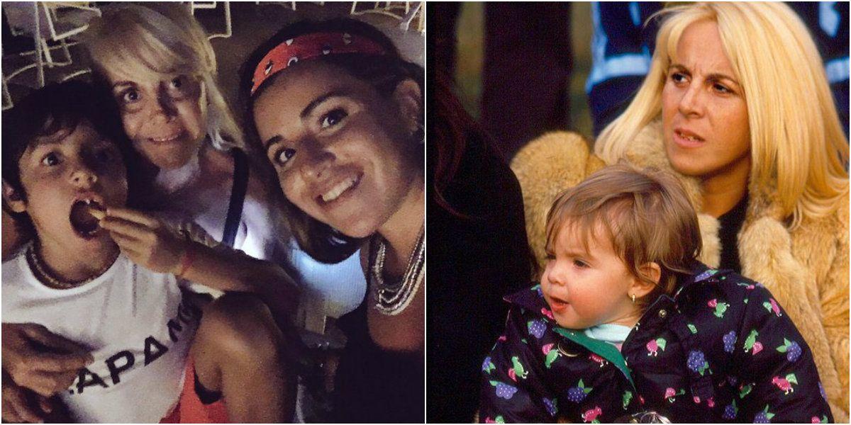 Los emotivos mensajes de Dalma y Gianinna Maradona por el cumpleaños de Claudia Villafañe