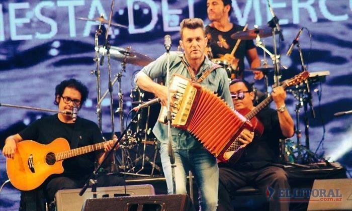 Axel cantó en la Fiesta Nacional del Chamamé ¿y le tiró un palito al padre de Lali Espósito?