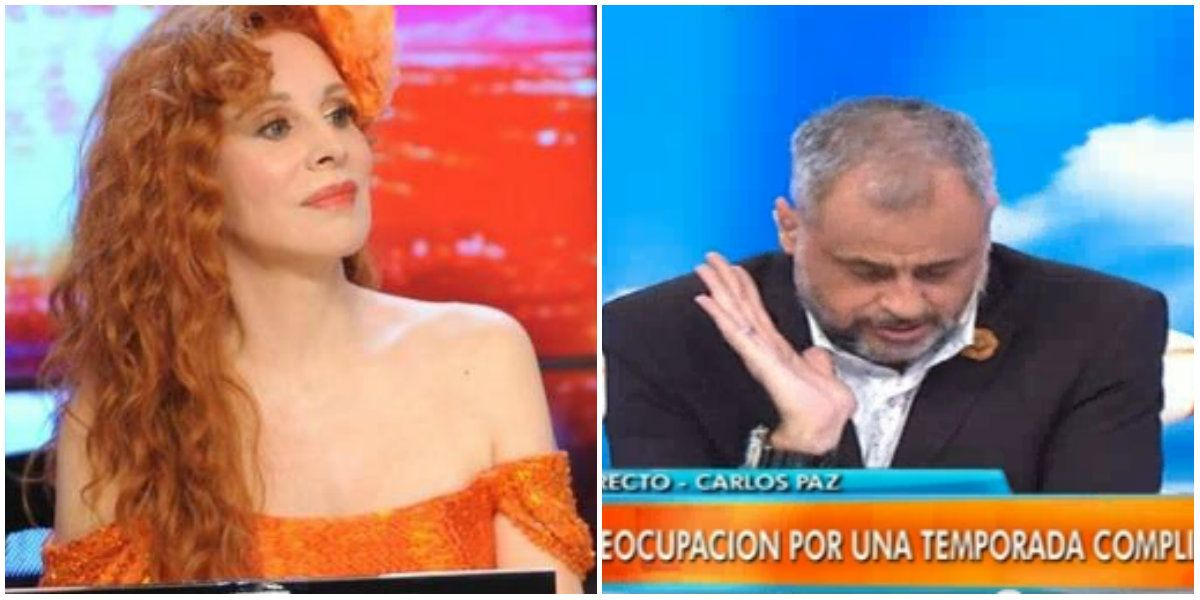 Tras una opinión sobre ella, Nacha Guevara le envió un mail a Jorge Rial: No sabía que tener éxito en Carlos Paz fuera tan duro