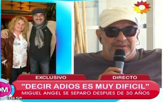 Miguel Ángel Rodríguez habló de su separación: Hay que volver a empezar porque nos merecemos ser felices