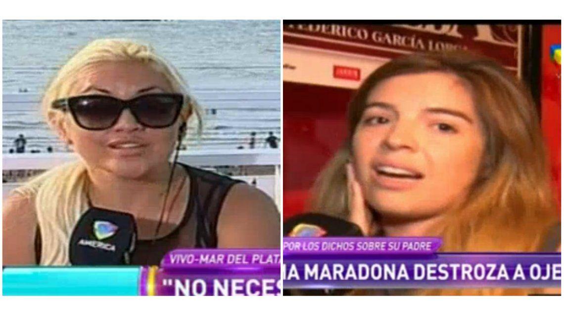 Verónica Ojeda le respondió a Dalma Maradona: No tengo ganas de que vea a mi hijo
