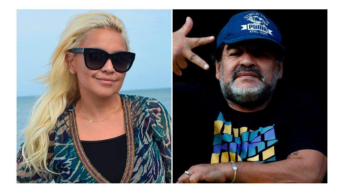 Verónica Ojeda reveló: Cuando estaba en el Bailando, Diego venía a la madrugada y estábamos juntos