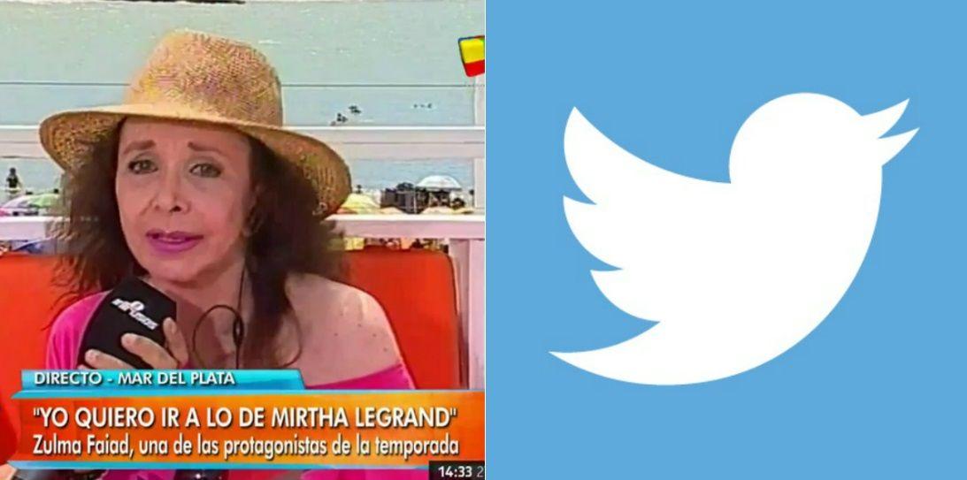 Fuerte repudio en Twitter contra Zulma Faiad por sus dichos contra los paraguayos
