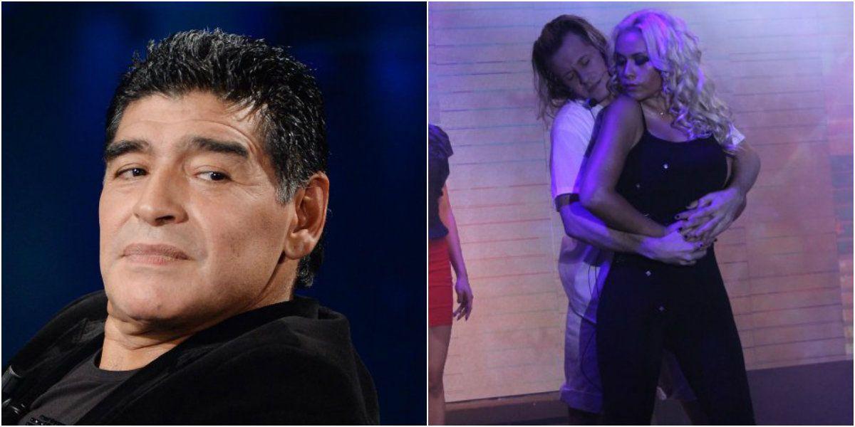 Diego Maradona quiere bajar a Verónica Ojeda de la obra que ella hace en Mar del Plata