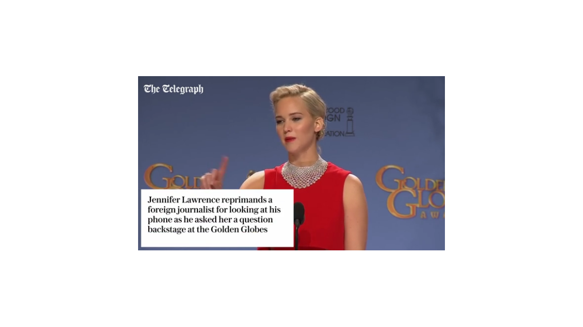 Polémico video de Jennifer Lawrence: la criticaron por inesperadas respuestas a un periodista y Anne Hathaway salió a defenderla
