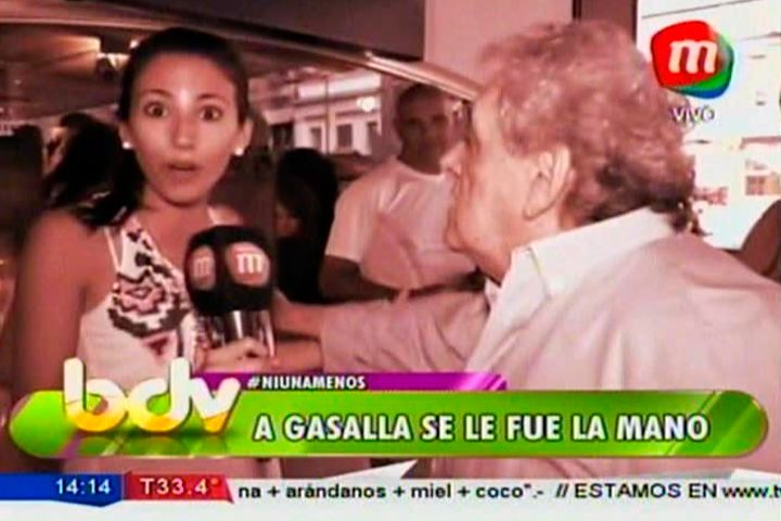 Confusa pelea entre Antonio Gasalla y una cronista: empujones y  malentendidos