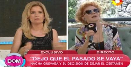 Nacha Guevara le hizo burla a Mercedes Ninci por su tono de voz: Ay, esa vocecita...