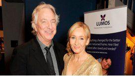 El conmovedor mensaje de J.K. Rowling tras la muerte de Alan Rickman