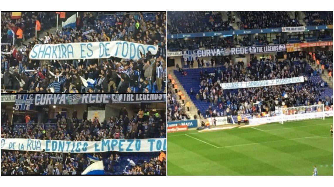 Polémica frase contra Shakira para molestar a Gerard Piqué en la cancha: hasta metieron a Antonio De La Rúa