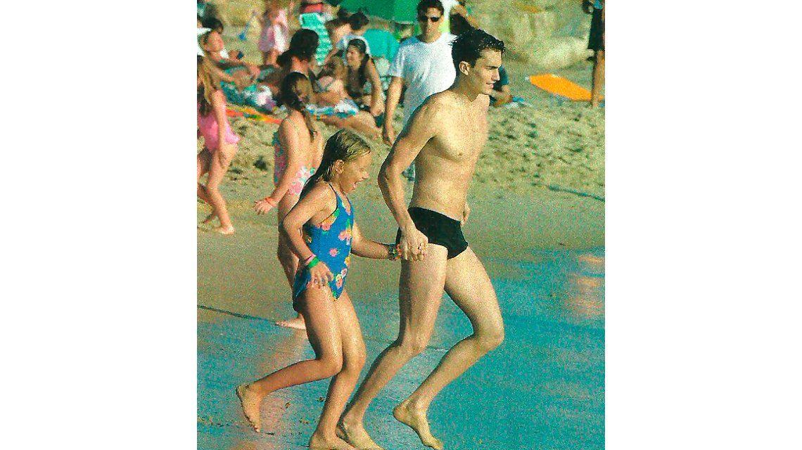 Días de relax en la playa para Ivana Figueiras, embarazada seis meses: Me cuido pero no pretendo sentirme una bomba