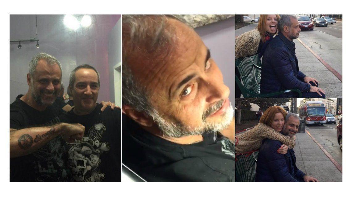 Jorge Rial se hizo un nuevo tatuaje en Estados Unidos: ¡Alguien que lo pare!, exclama Agustina Kämpfer