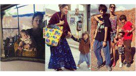 Mirá el álbum de las vacaciones hippies de Barreiro en Jujuy con su familia
