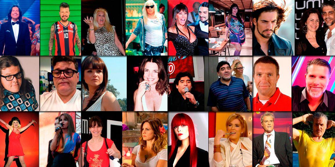 Antes y después: ¿Cómo estaban los famosos hace diez años?