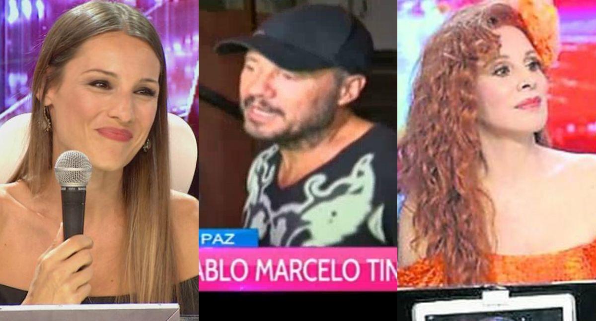 Marcelo Tinelli y el jurado del Bailando 2016: Queremos que Pampita este en lugar de Nacha