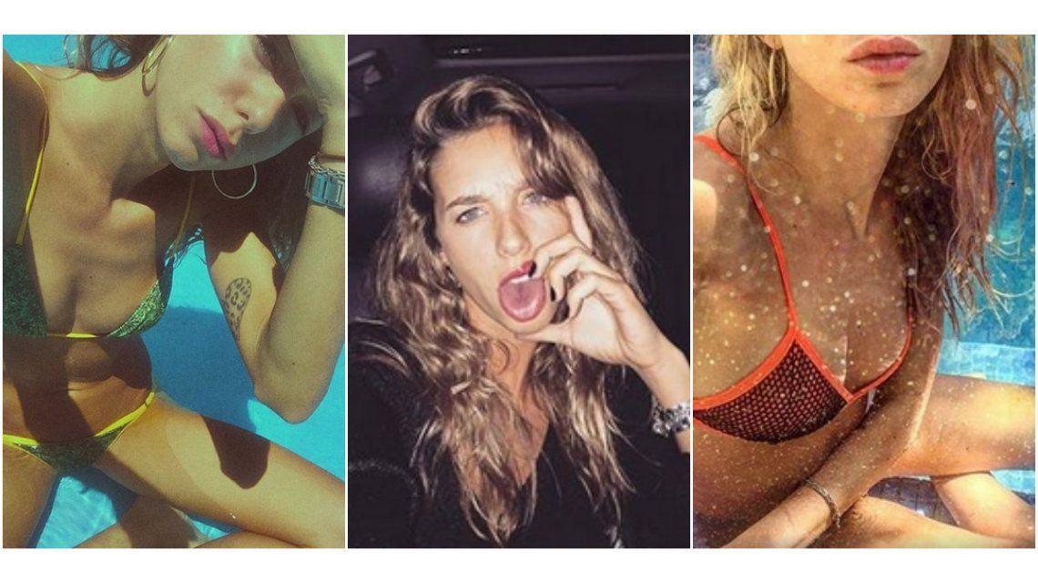 El verano de Lucía Celasco: fotos en bikini y salidas nocturnas