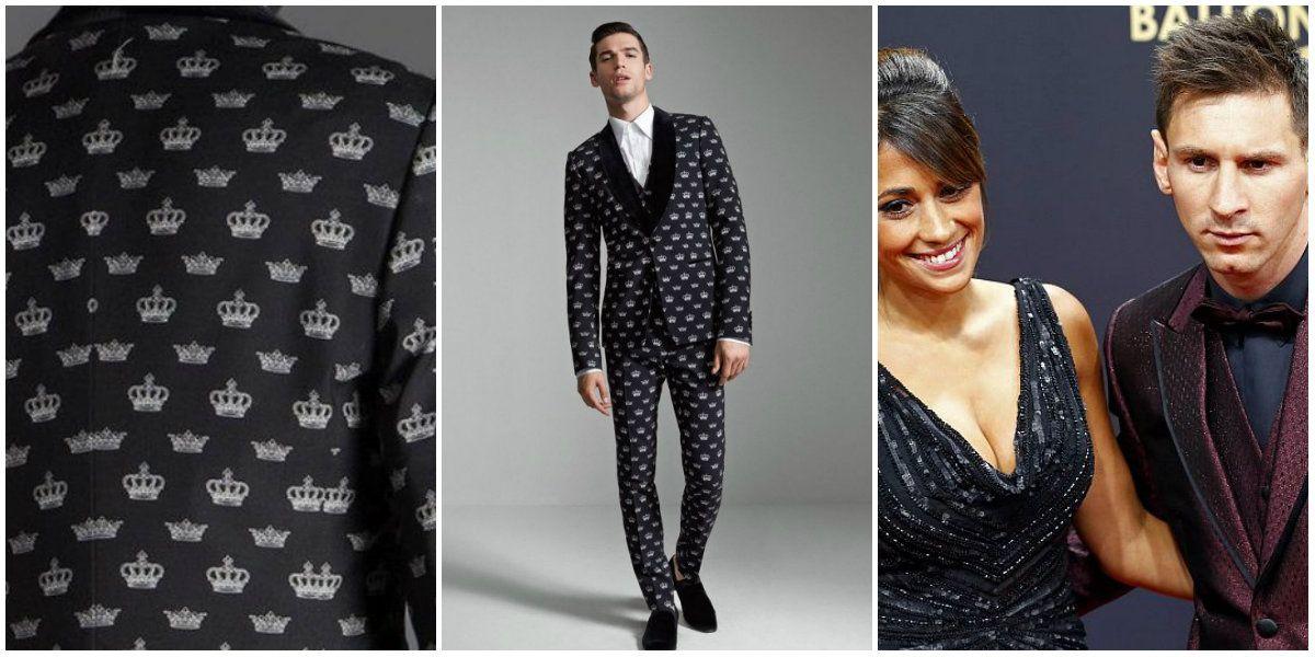 Así será el traje que Lionel Messi lucirá en la entrega del Balón de Oro 2016