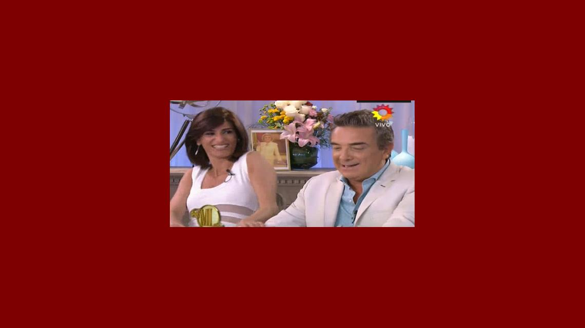 La inesperada respuesta de Nito Artaza y Cecilia Milone frente a la pícara pregunta de Mirtha Legrand: ¿El romance no es un hecho comercial, no?