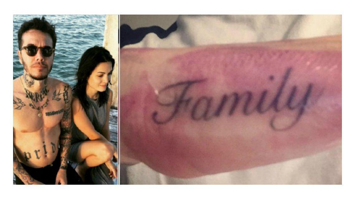La familia primero: mirá el álbum de Sebastián Ortega en Estados Unidos con su novia y su nuevo tatuaje