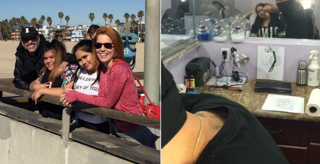 La hija de Jorge Rial se hizo un piercing con la autorización de Agustina Kämpfer ¡y él se enteró por Instagram!