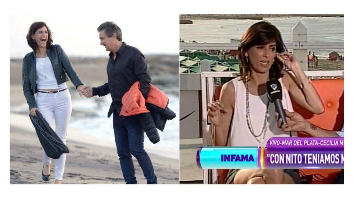 Cecilia Milone insiste con su actividad sexual con Nito Artaza: La sigue teniendo preciosa
