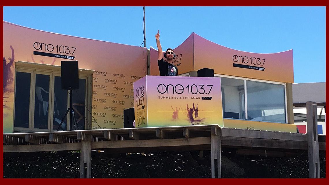 Summer 2016: Radio One 103.7 llega a Pinamar